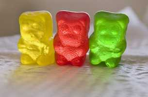 Sarah's favorite candy are gummy bears or anything gummy