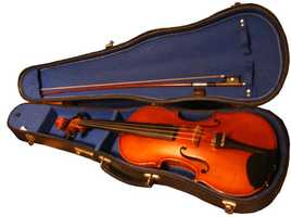"""Sarah played violin for a year when she was little. """"It may have been the longest year for my family ever."""""""