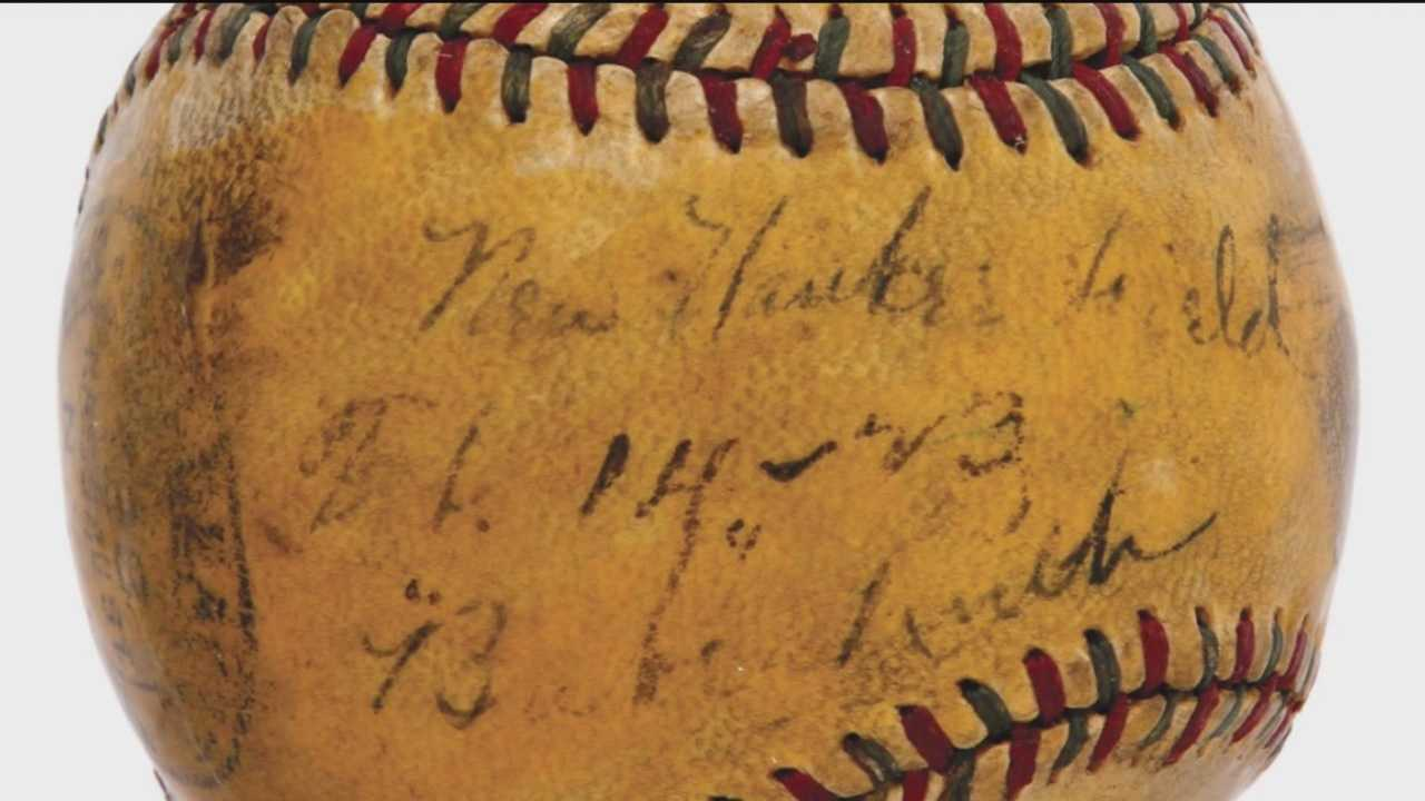 Babe Ruth memorabilia up for auction