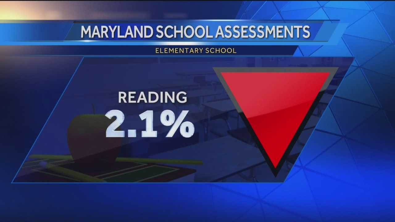 MSA test scores drop