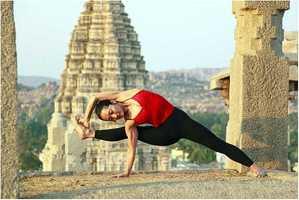 Megan's favorite hobby is Yoga, something she hopes she can do again when her girls get older.