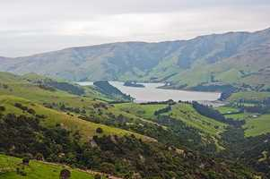 If she could go anywhere in the world, Megan would visitNew Zealand.