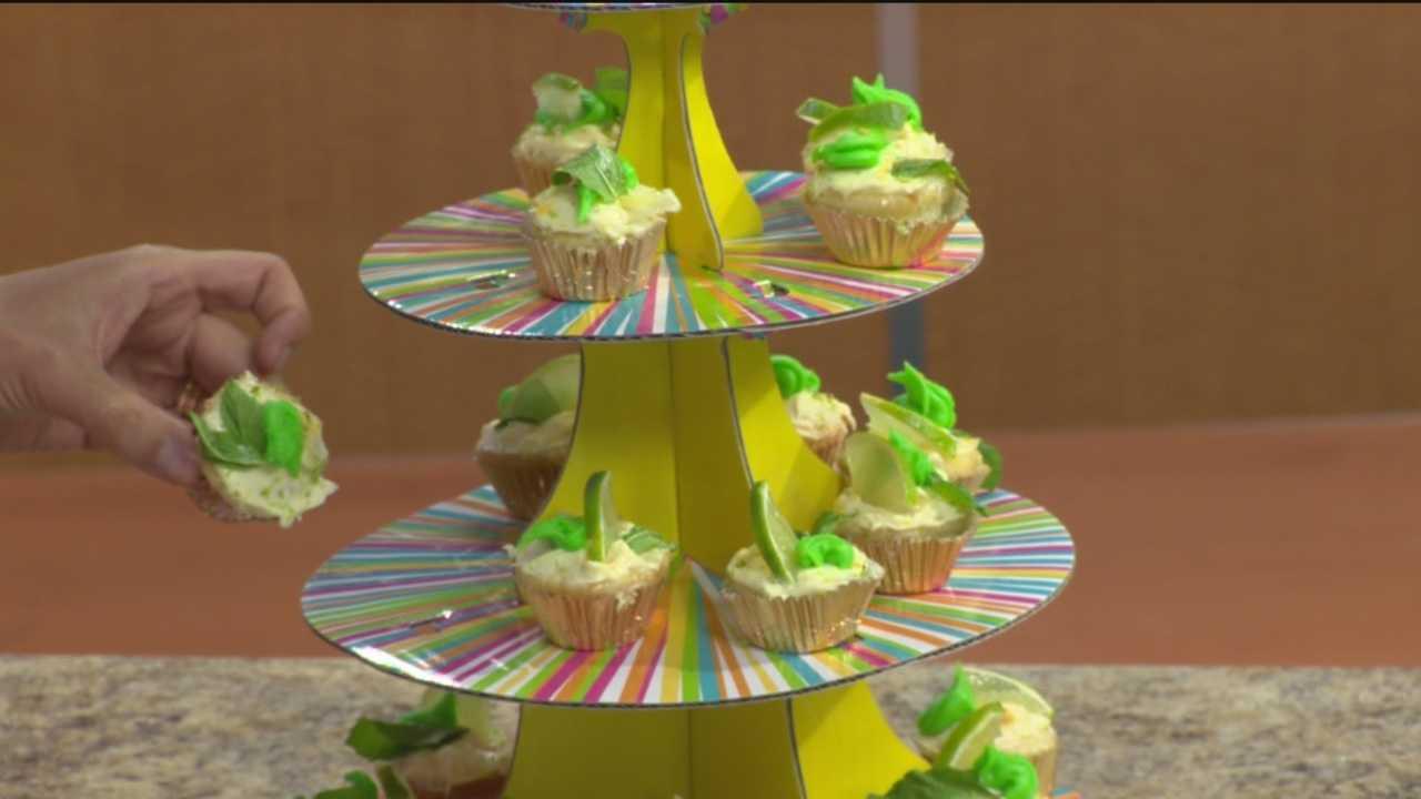 Sunday Brunch: Mini Virgin Mojito Muffins