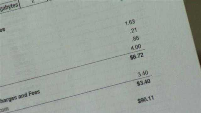 Cellphone bill tax
