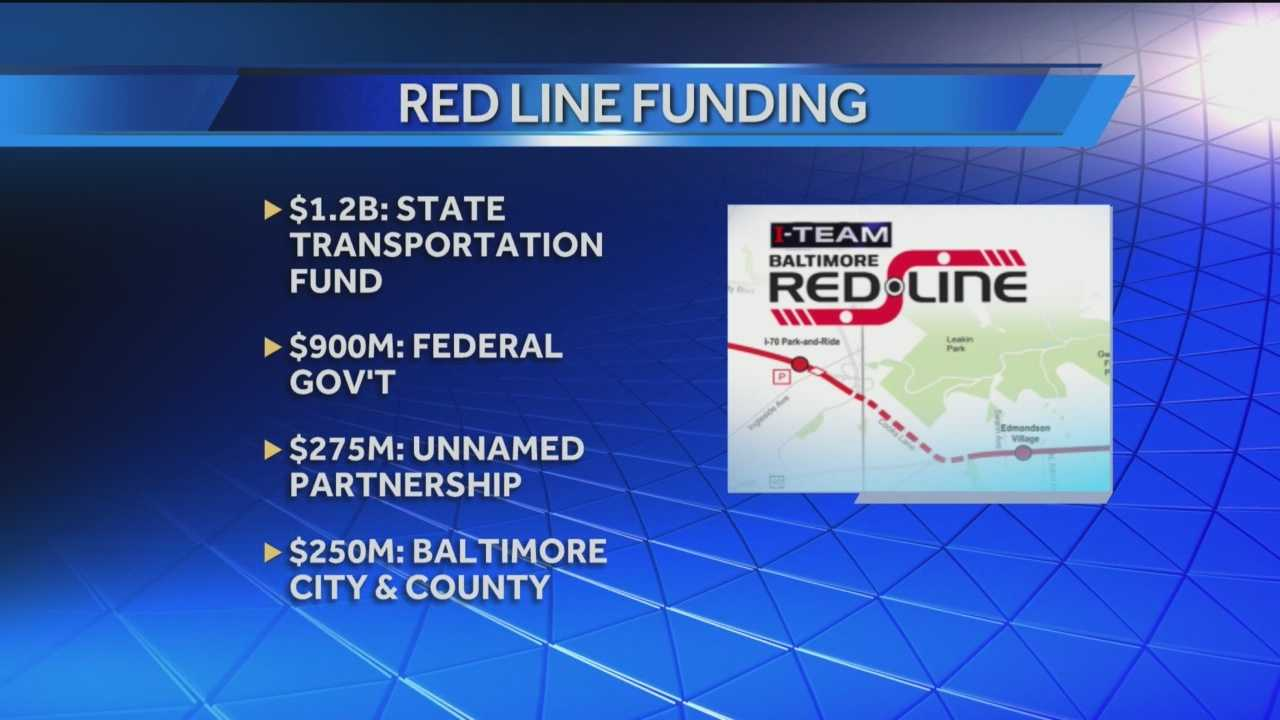 Red Line project to cost an estimated $2.6B