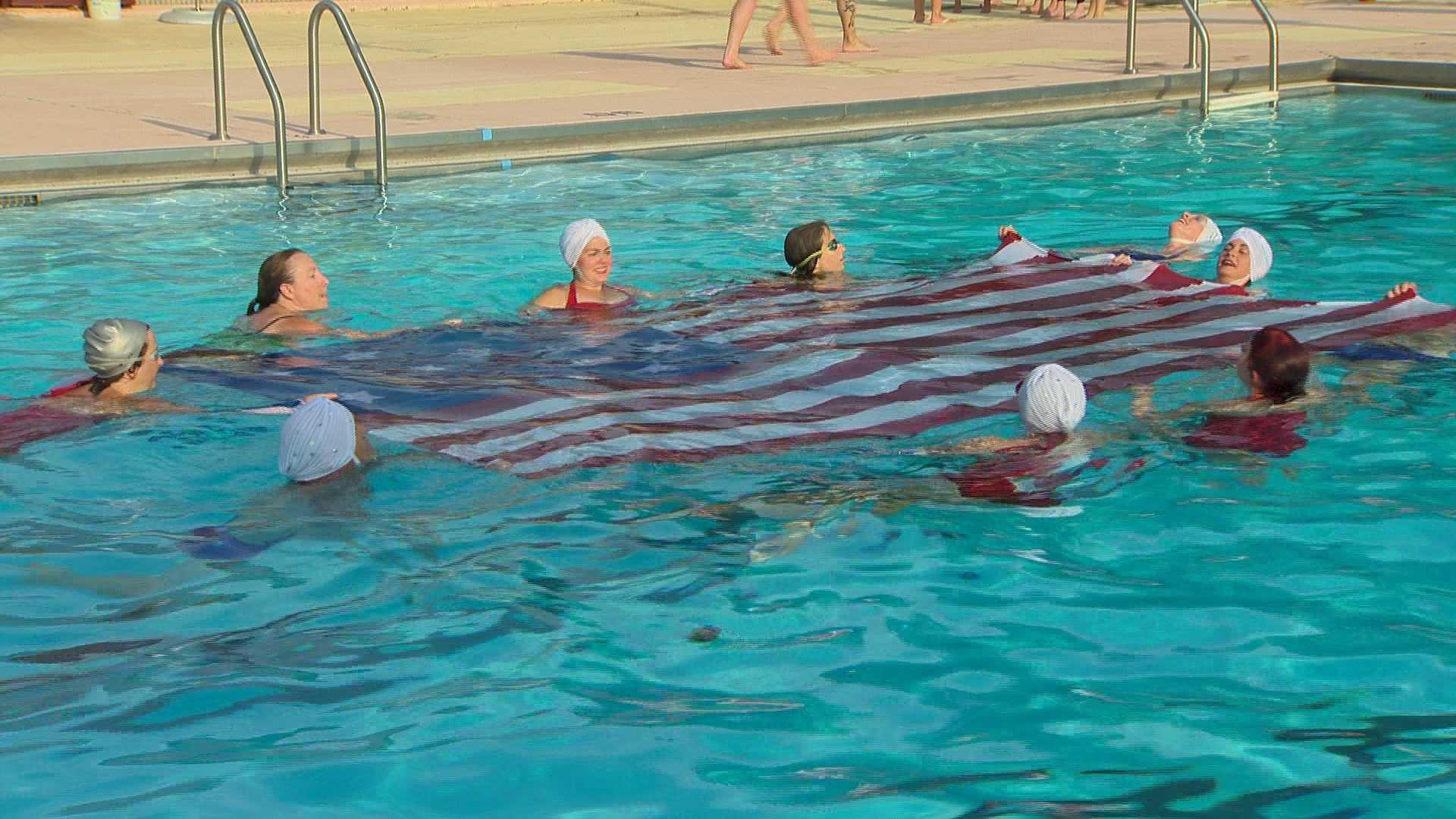 Fluid Movement water ballet