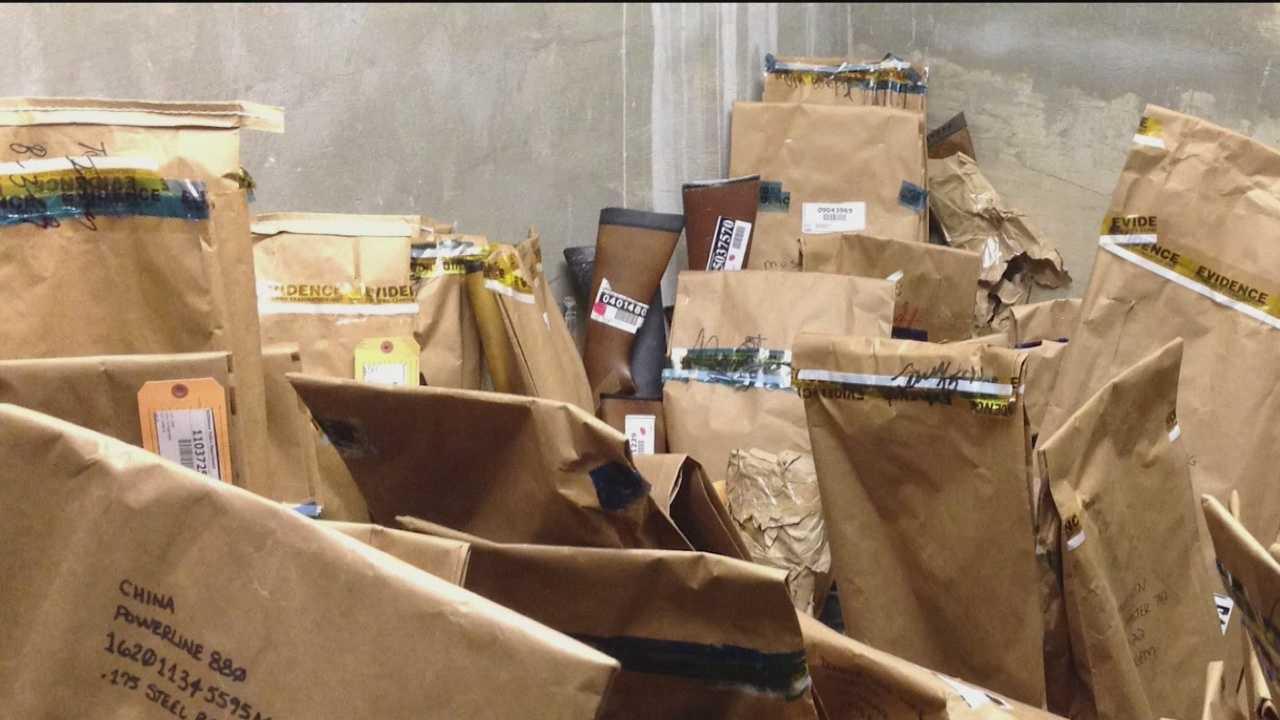 Photos show disarray in BPD evidence collection