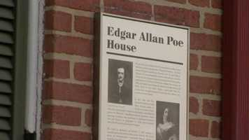 Edgar Allen Poe House and Museum800 W Lexington St, Baltimore, MD 21201