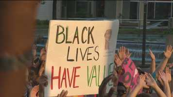 Baltimore rally for Michael Brown