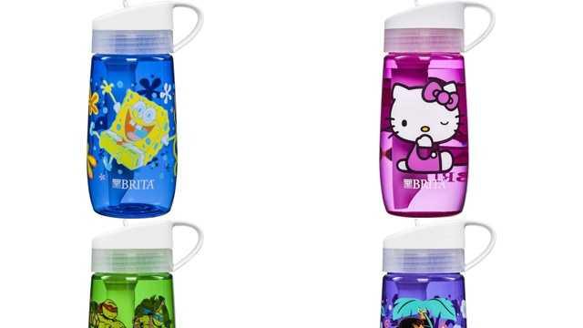 Brita children's water bottles recalled