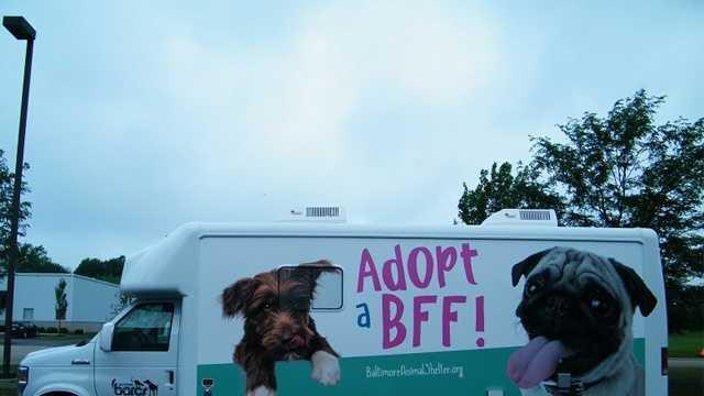 BARCS mobile adoption center
