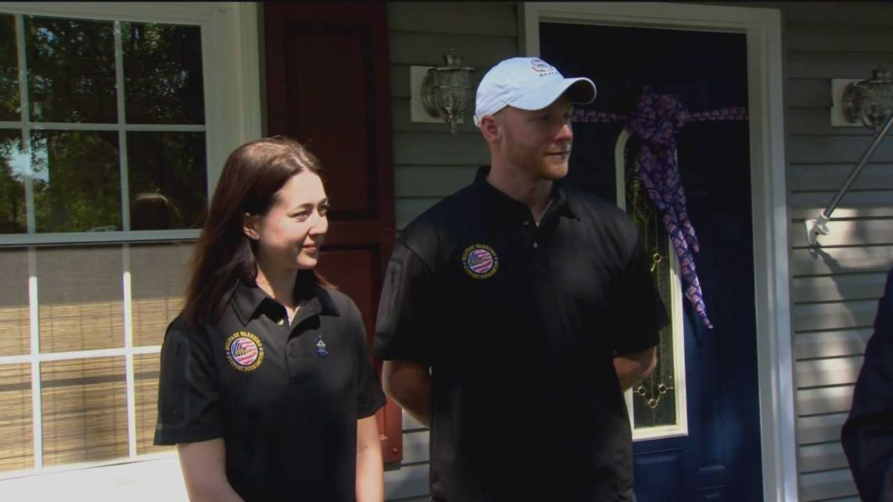 Retired Army captain gets new home