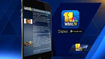 Get the latest news and weather headlines from WBAL-TV 11 News. iTunes | GooglePlay