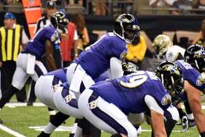 See photos from the Ravens-Saints preseason game in New Orleans.