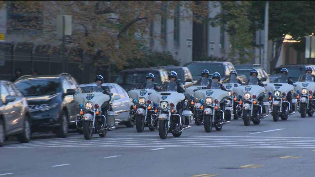 City Police Motor Unit Celebrates 100 Years