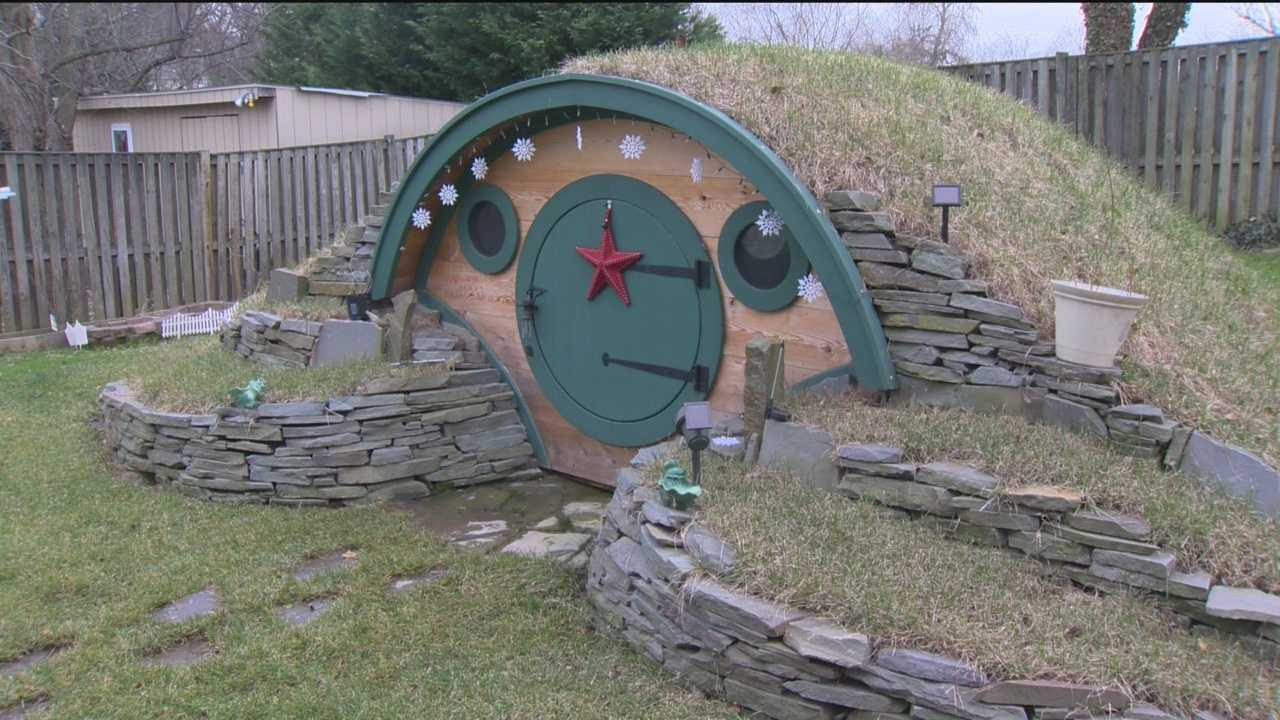 Terminally ill boy gets custom-built hobbit house