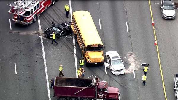 Multivehicle Crash Impacts Inner Loop Traffic