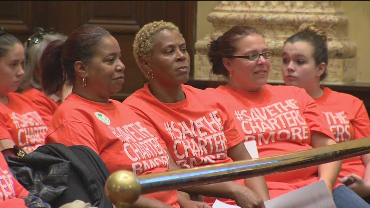Baltimore City Council holds hearing on charter school funding