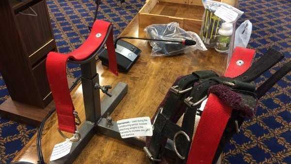 dog-fighting equipment