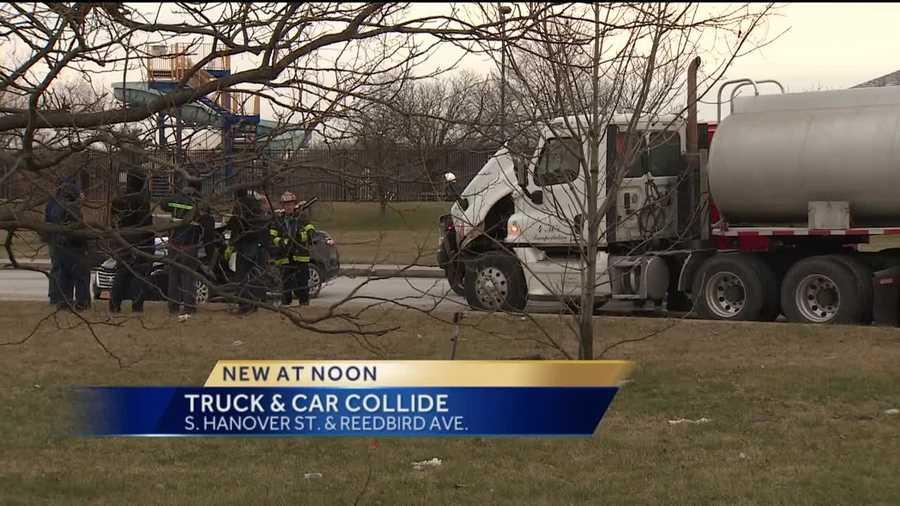 Wbal Food Truck Accident