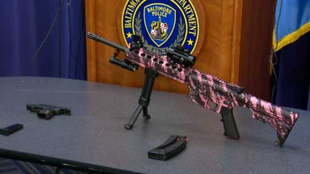 guns seized in police shooting