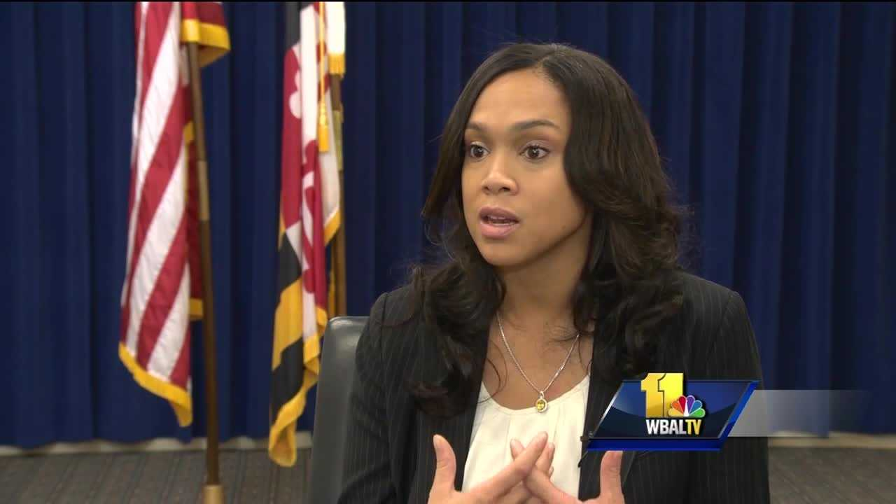 Baltimore City State's Attorney Marilyn Mosby explains decision