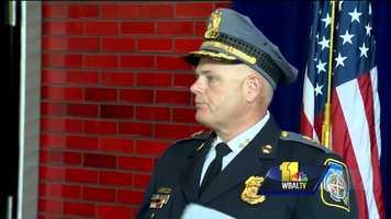 Baltimore County Police Chief Jim Johnson
