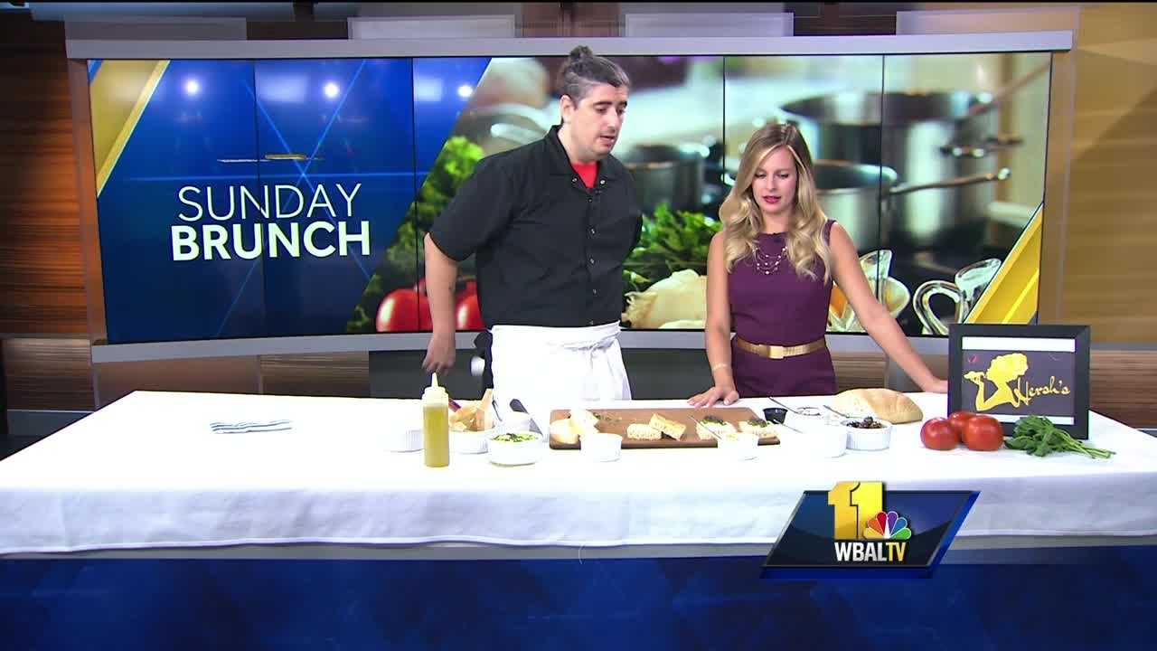 Sunday Brunch: Hersh's crostini