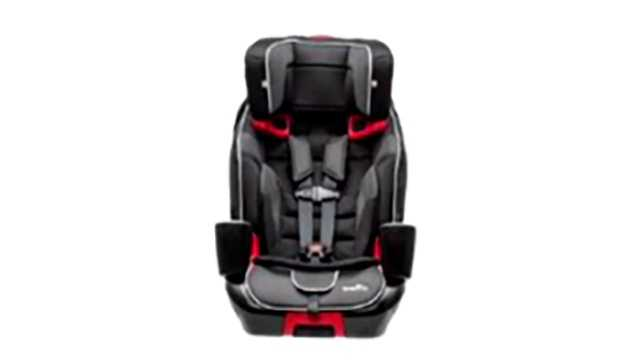 Evenflo Evolve 3-in-1 seat recall