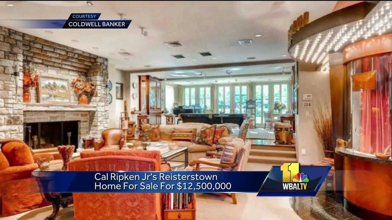 Cal Ripken Jr.'s home could be yours for $12.5M