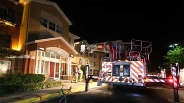 Firefighters extinguish blaze at Columbia hotel