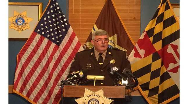 Sheriff James Fitzgerald presser