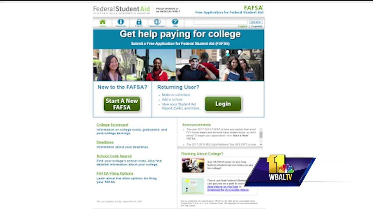 FAFSA applications open Saturday