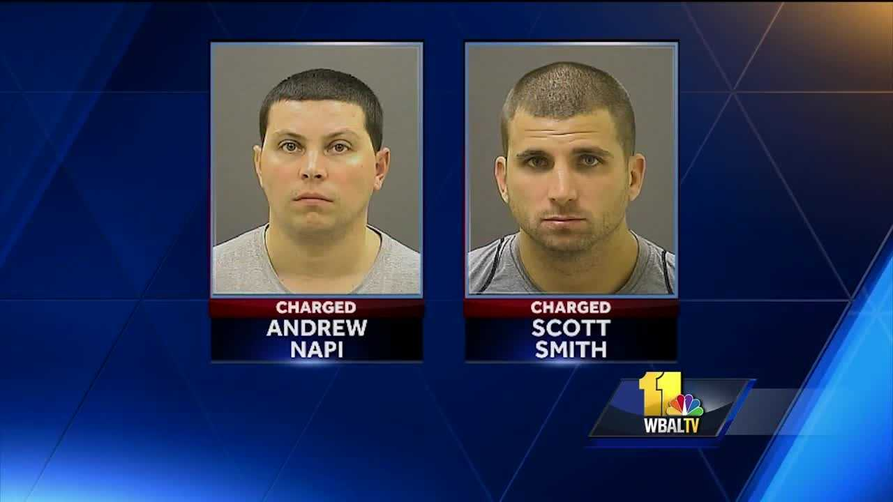 NY men charged with assault at Ravens game