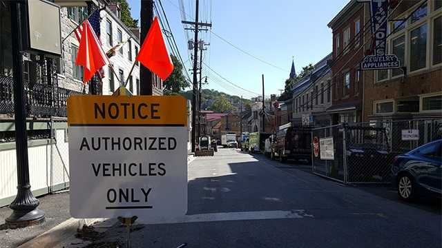Ellicott City's Main Street will officially reopen Thursday to pedestrian and vehicular traffic, a little more than two month after a historic flood devastated the Howard County community.