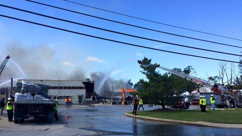 Adell Plastics Lansdowne fire