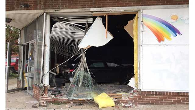 car into vacant day care.jpg