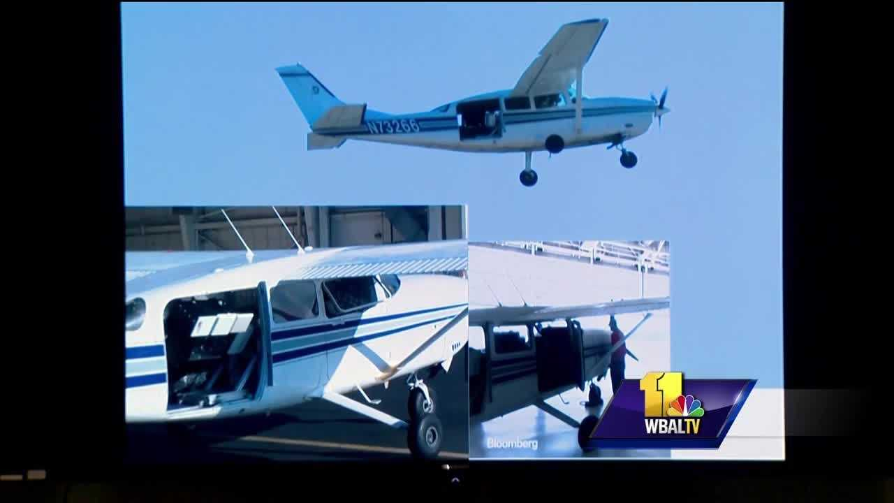 Baltimore aerial surveillance plane