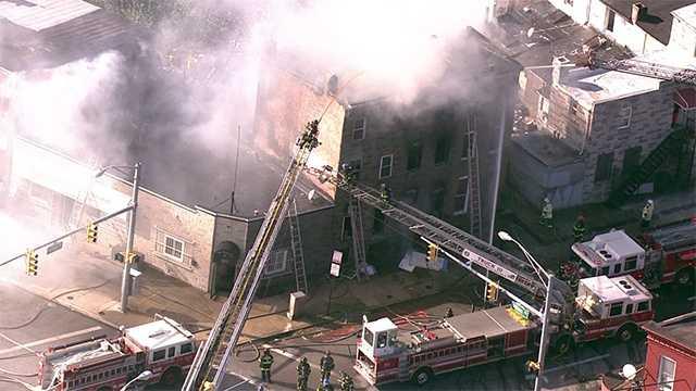Fulton Avenue fire