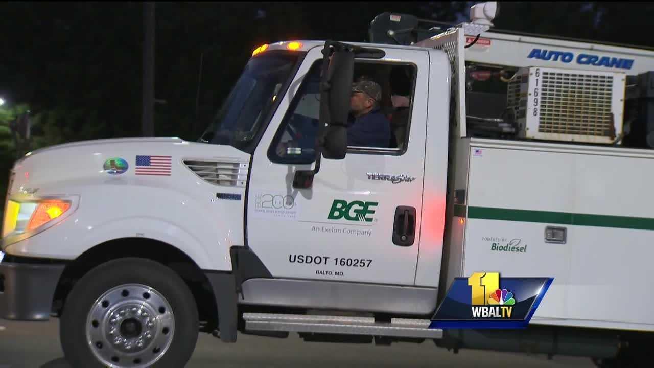 BGE helping Va. crews restore power after Hurricane Matthew