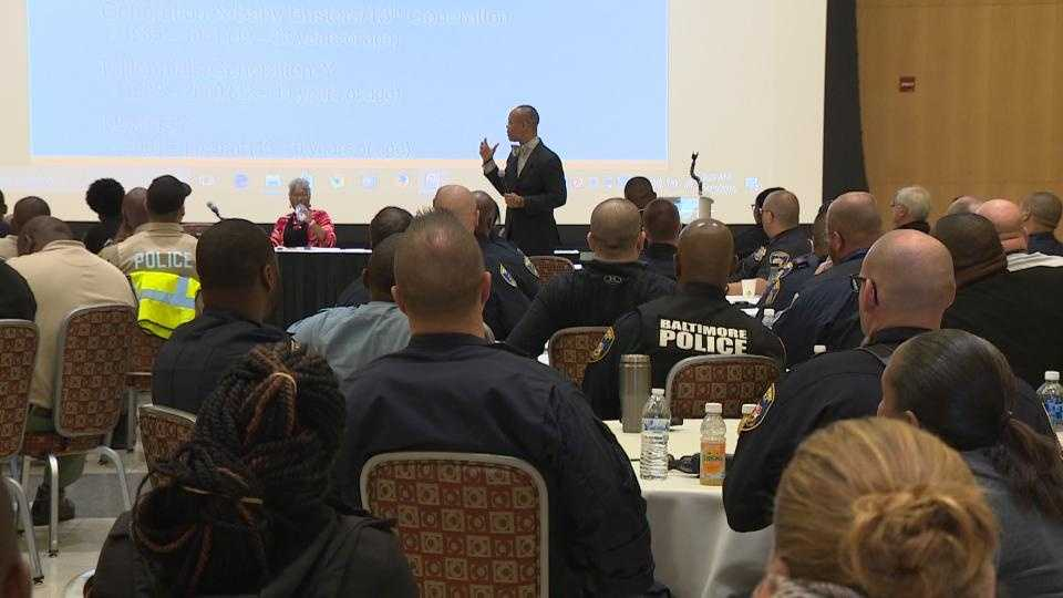 Police sensitivity training at Morgan State University