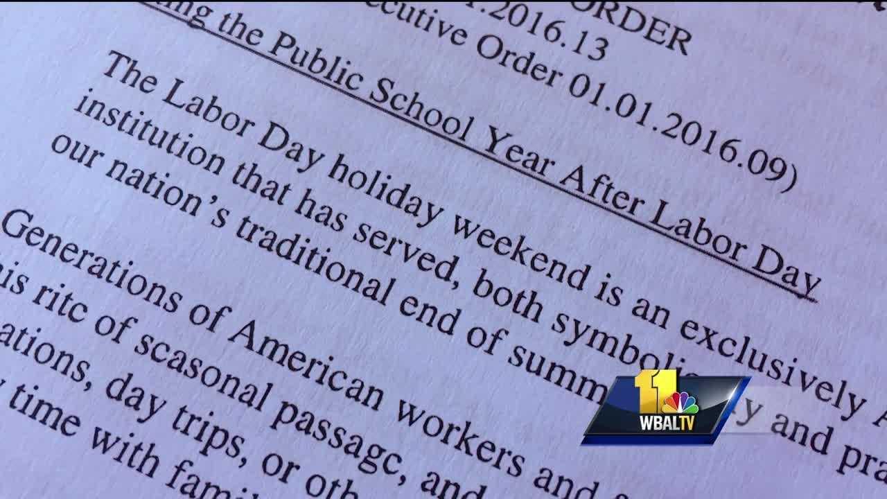 School calendar debate continues in Maryland