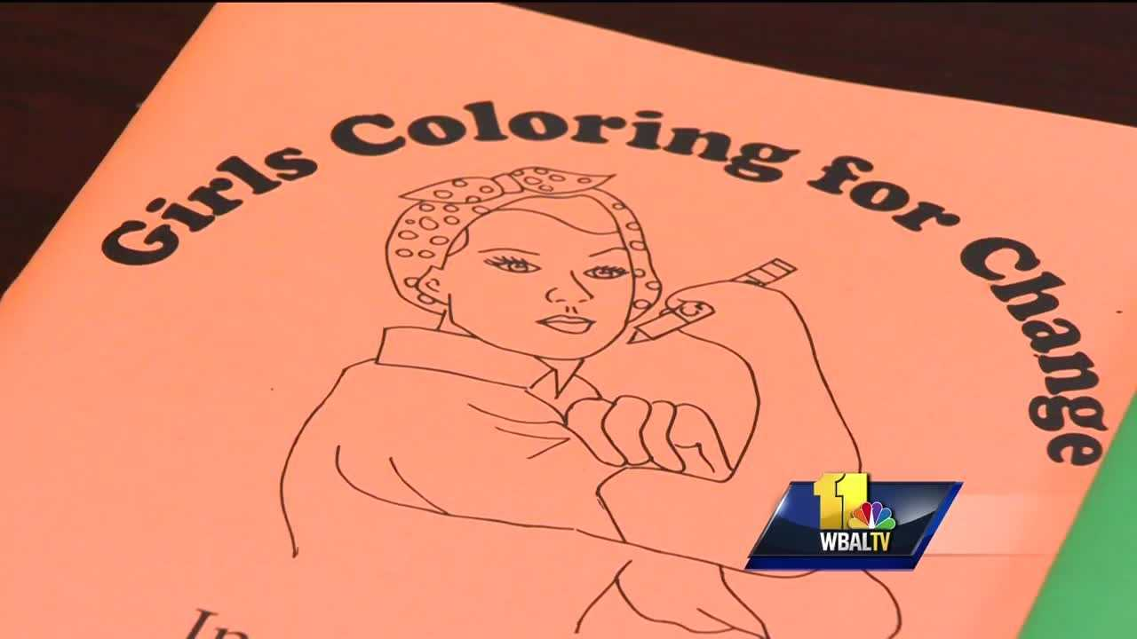 Color for a change: Girls create strong self image for young women