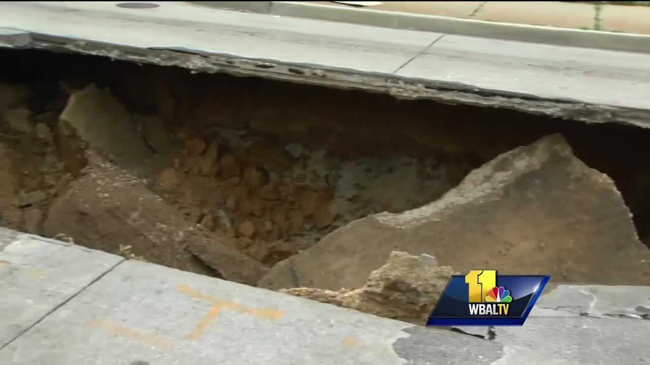 As soon as crews repair one sinkhole, another forms