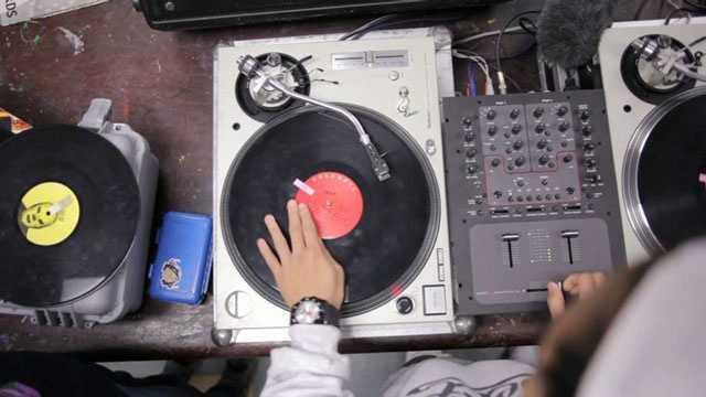 Hip Hop turntables