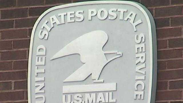 U.S. postal service sign (good post office generic) - 29264347