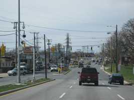 4) 13,921 speeding violations in the 4800 block of westbound Erdman Avenue at Macon Street.
