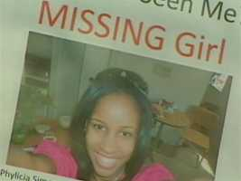 Phylicia Barnes' relatives report her missing on Dec. 28, 2010, while she was visiting with family at the Reisterstown Square Apartments in the 6500 block of Eberle Drive in northwest Baltimore.