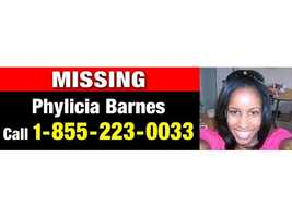 Baltimore City police say this billboard will appear along the Interstate 95 corridor as another tool to help find Phylicia Barnes.
