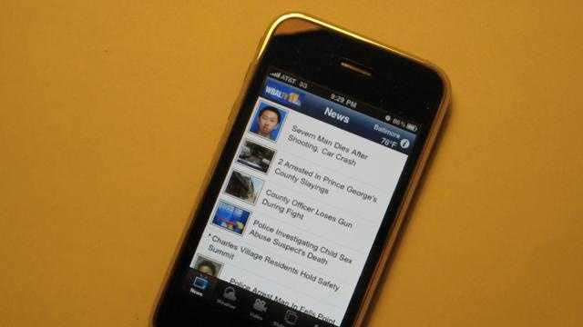 WBAL-TV iPhone app - 24552309
